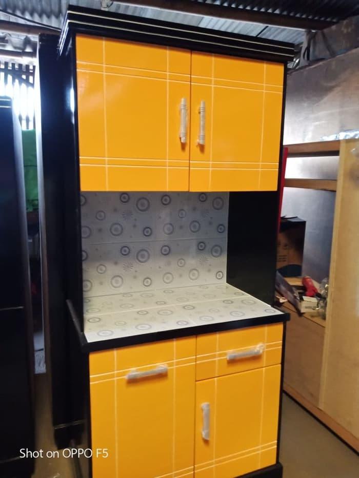 Lemari Sayur Rak Piring Dapur Minimalis 2 Pintu