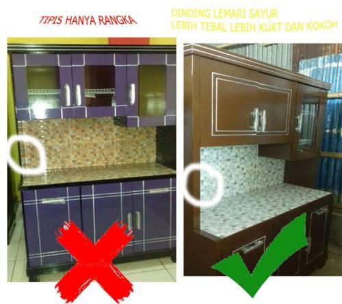 Rak Piring Kitchen Set: KITCHEN SET / LEMARI DAPUR / RAK PIRING / LEMARI SAYUR 4